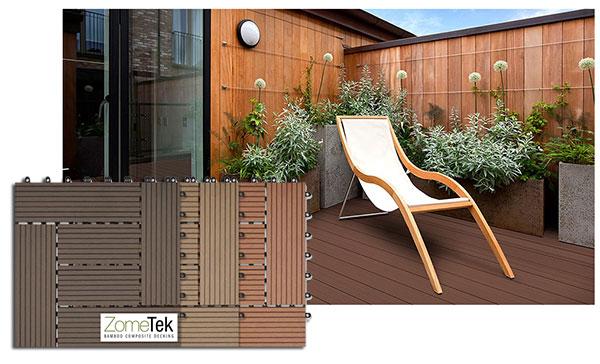 Bamboo Decking Image